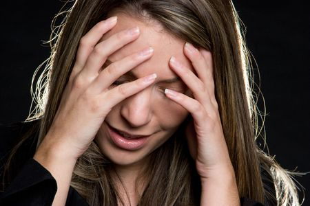 Emotional Woman Stock Photo - 4734316
