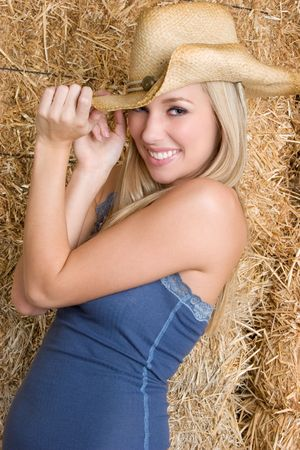 Happy Country Girl photo