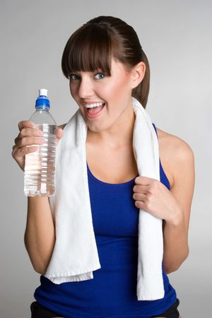 Woman Drinking Water Stock Photo - 4779912