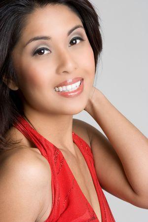 Smiling Asian Woman Stock Photo - 4779929