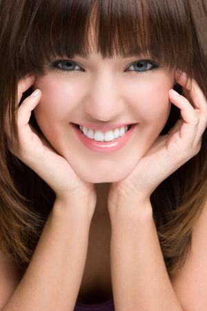 chins: Smiling Woman LANG_EVOIMAGES