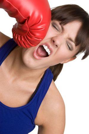 Aggressive Boxer Stock Photo - 4779937