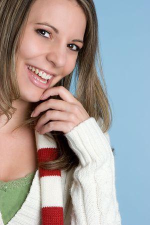 Pretty Laughing Woman Reklamní fotografie - 4779955