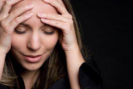 mujer enojada: Emocional Chica