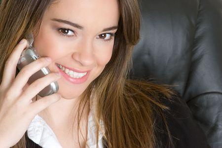 Phone Woman Stock Photo - 4810080