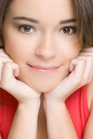 Smiling Woman Portrait Stock Photo - 4835743