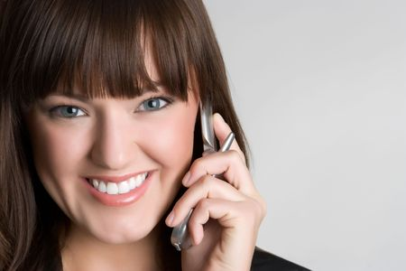 Woman Using Phone Stock Photo - 4870279