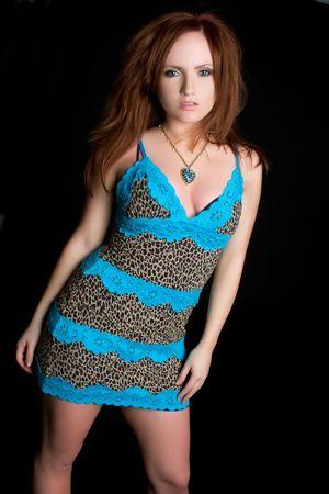 Gorgeous Redhead Woman Stock Photo - 4918219