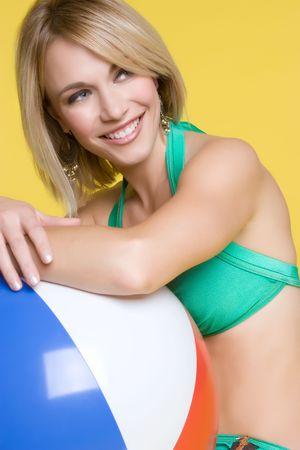 beachball: Summer Fun Girl LANG_EVOIMAGES