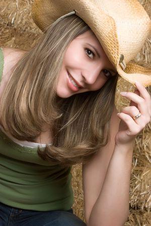 Beautiful Cowgirl Stock Photo - 4925974