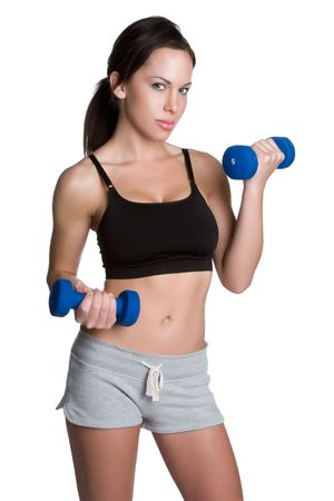 Fitness Woman Exercising Stock Photo - 4946485
