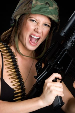 Military Woman Stock Photo - 4970097