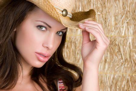 Beautiful Cowgirl Stock Photo - 4970096