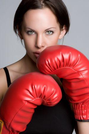 Boxing Woman Stock Photo - 4970095
