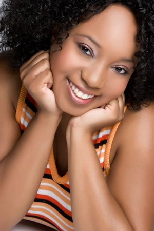 Gorgeous Black Woman Banque d'images - 4970098