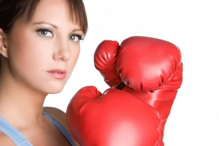 Girl Boxer Stock Photo - 4970103
