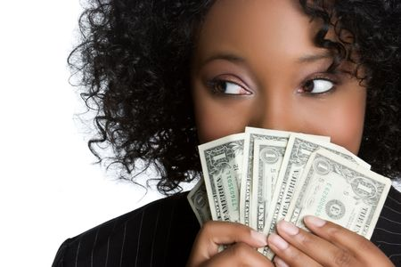 mano con dinero: Mujer Con Dinero LANG_EVOIMAGES