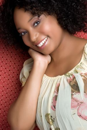Pretty Black Girl Stock Photo - 4970120