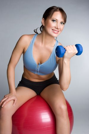 Happy Workout Girl Stock Photo - 4970115