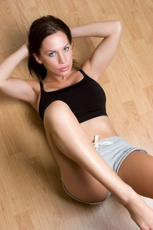 Exercise Woman Stock Photo - 5020823