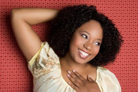 Beautiful Black Girl Stock Photo - 5020844