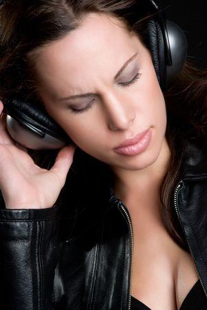 Girl Listening to Music Stock Photo - 5020841