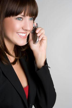 Phone Businessperson Stock Photo - 5031256