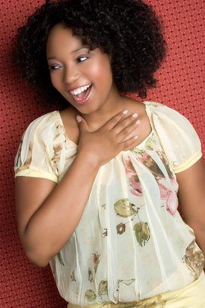 Laughing Black Girl
