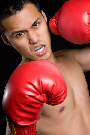 Upset Boxer Stock Photo - 5057722