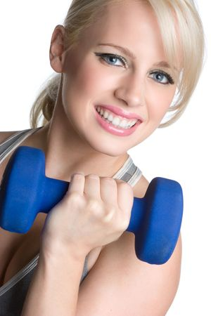 Smiling Workout Girl Stock Photo - 5057726