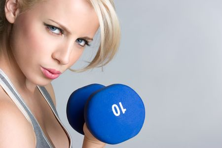 Blond Workout Girl Stock Photo - 5057725