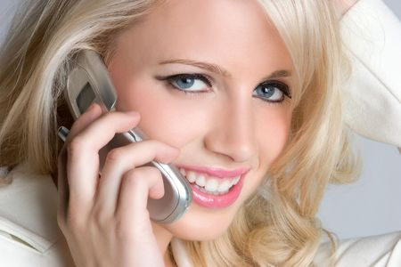 Closeup Phone Woman Stock Photo - 5066561