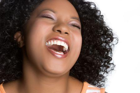 adolescentes riendo: Riendo Mujer