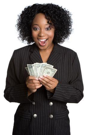Surprised Money Woman photo