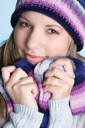 beanies: Chica bonita de Invierno