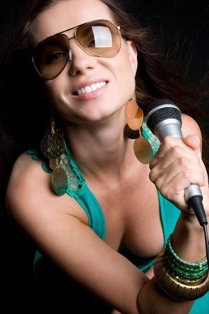 Gorgeous Singer Stock Photo - 5121150