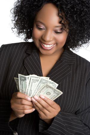 Money Woman Stock Photo - 5153323