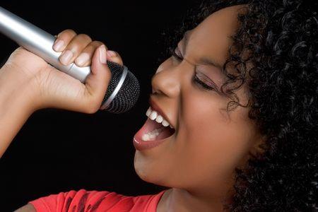 Music Girl Stock Photo - 5153322