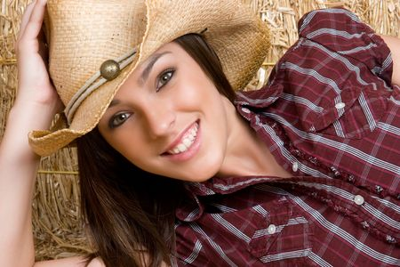 Beautiful Country Girl Stock Photo - 5159556