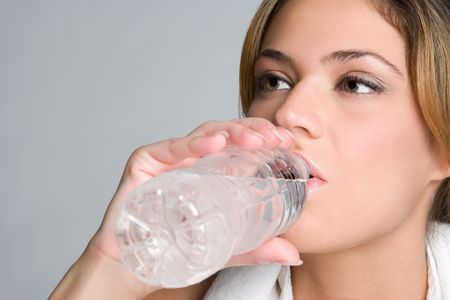 Woman Drinking Water Stock Photo - 5165500