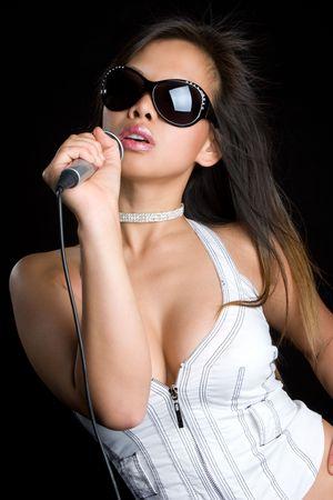 Asian Singer Stock Photo - 5187784