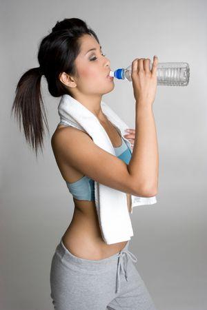 Water Bottle Girl photo