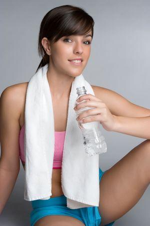Pretty Workout Girl photo