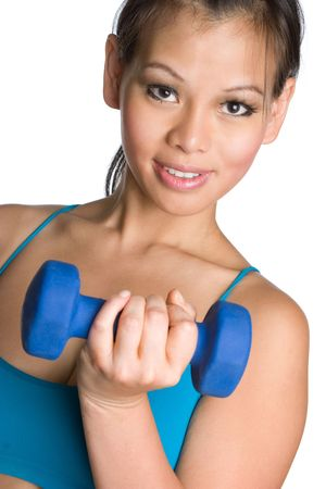 Asian Workout Girl Stock Photo - 5187798
