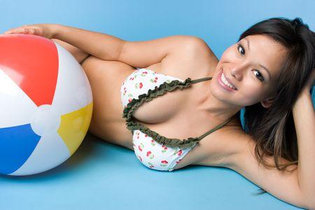 Asian Summer Girl Stock Photo - 5187810