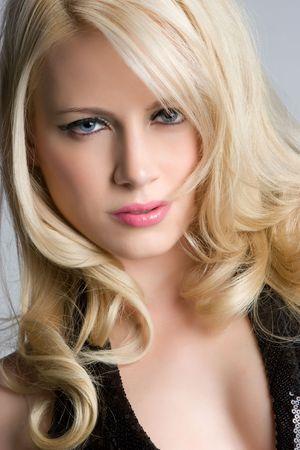 Pretty Blond Woman Zdjęcie Seryjne - 5219392