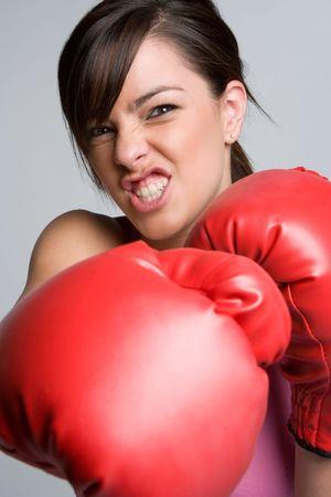 Female Boxer Stock Photo - 5219395