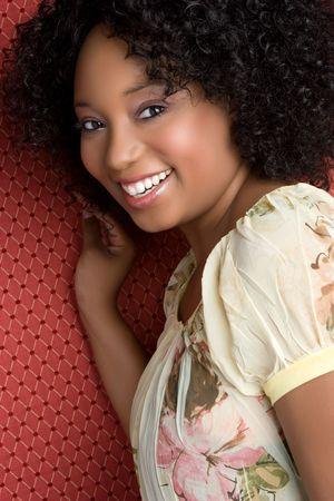 Happy Black Girl Stock Photo - 5219400