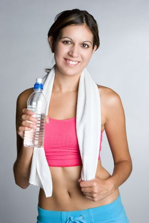 Smiling Workout Girl Stock Photo - 5226922