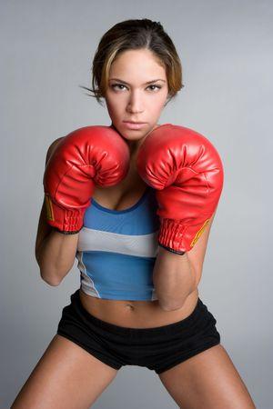 Boxing Female Stock Photo - 5226923
